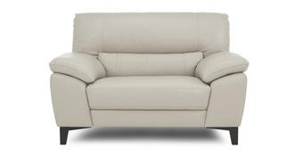 Mode Leather and Leather Look Cuddler Sofa