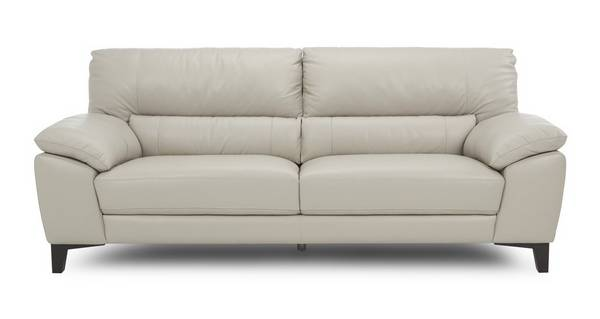 Mode Leather and Leather Look 3 Seater Sofa