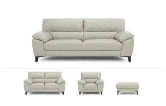 Mode Clearance 3 Seater, 2 Seater, Armchair and Rectangular Footstool Premium