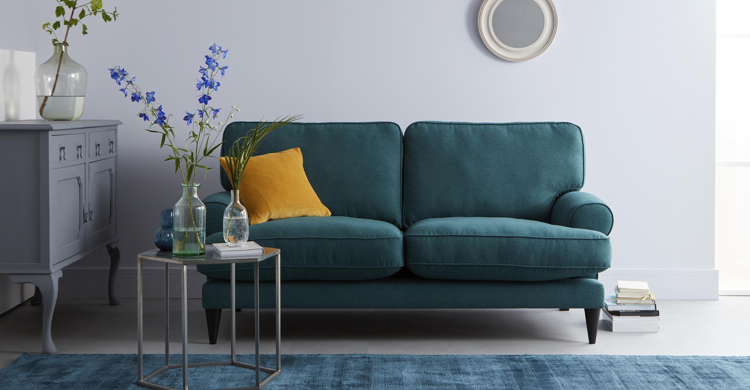 Contemporary and Modern sofas for smaller spaces