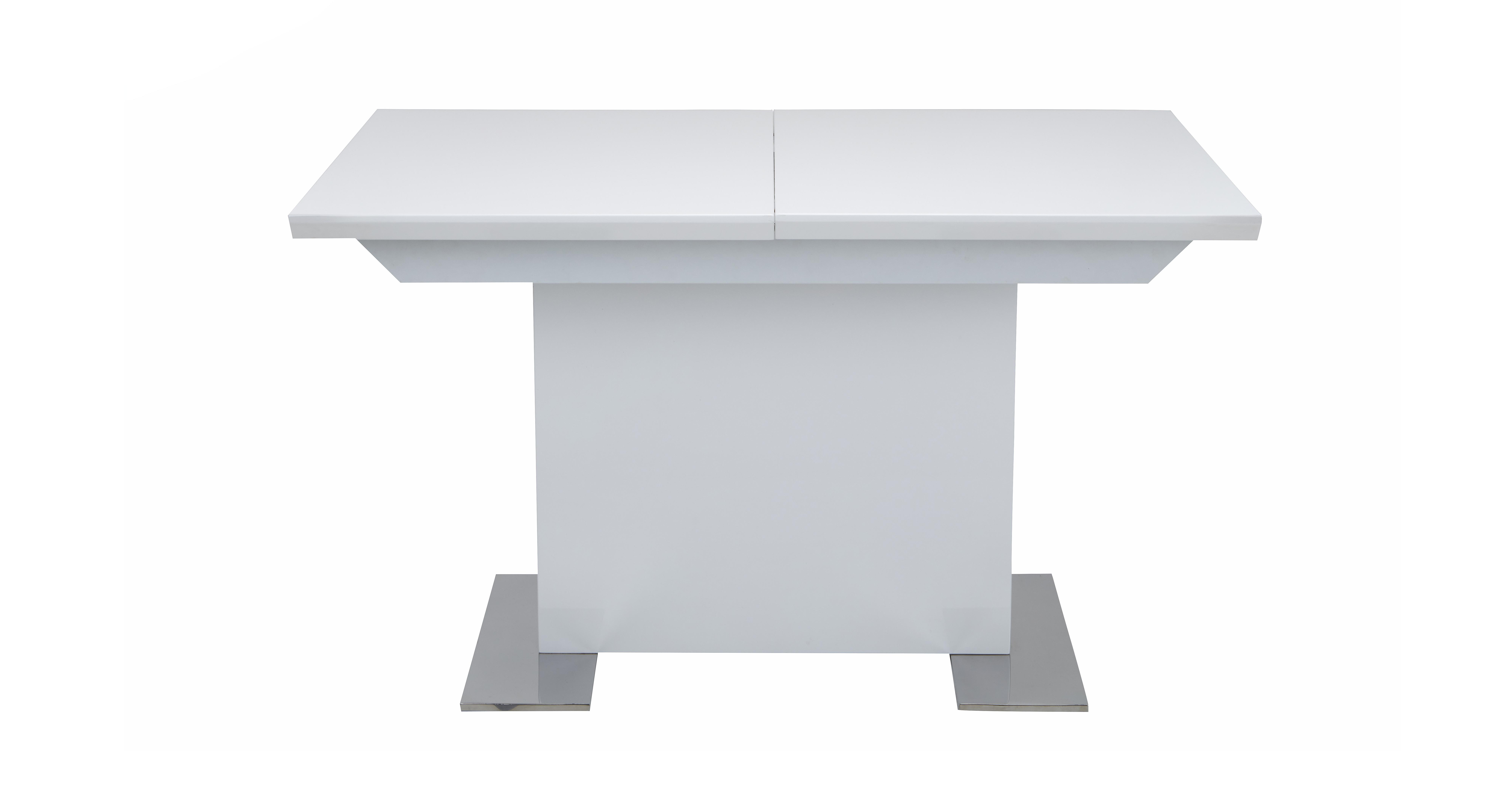 Monochrome Extending Dining Table Dfs