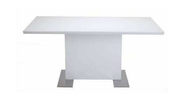 Monochrome Fixed Dining Table