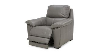 Montaro Leather and Leather Look Electric Recliner Chair