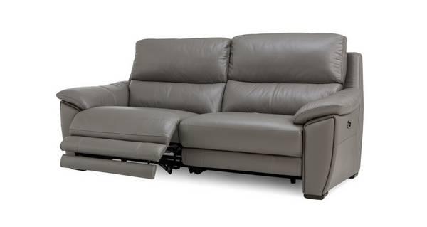 Montaro Leder end lederlook 3-zitsbank elektrische recliner