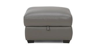 Montaro Leather and Leather Look Storage Footstool