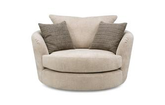 Large Swivel Chair Montie Serenity