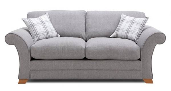 Monty 2 Seater Formal Back Deluxe Sofa Bed