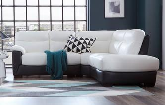 Morano Option A Left Hand Facing Arm 2 Piece Corner Sofa Essential