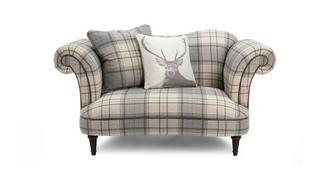 Moray Check Cuddler Sofa