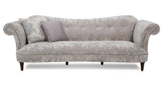 Moray Velvet 4 Seater Sofa