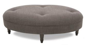 Moray Plain Oval Footstool
