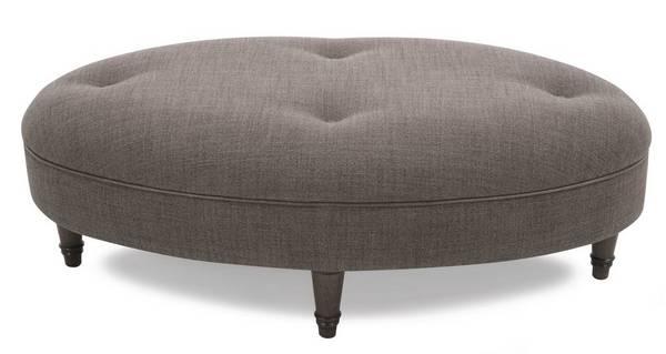 Moray Plain Oval Footstool