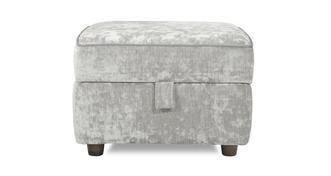 Moray Velvet Storage Footstool