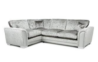 Formal Back Right Hand Facing Arm 3 Seat Supreme Corner Sofa Bed