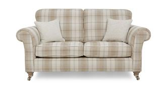 Morland Plaid 2 Seater Formal Back Sofa