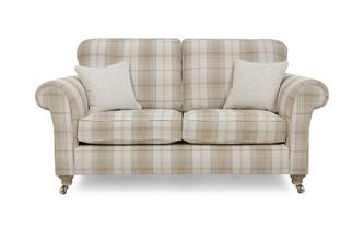 Plaid 2 Seater Formal Back Sofa