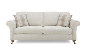Plain Body 4 Seater Formal Back Sofa