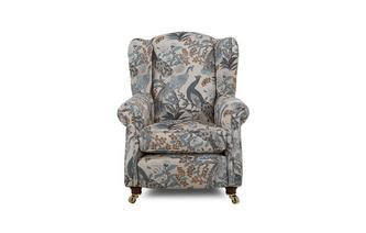 Pattern Wing Chair Morris
