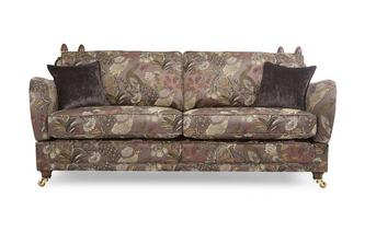 4 Seater Pattern Formal Back Sofa