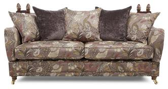 Morris 4 Seater Pattern Pillow Back Sofa
