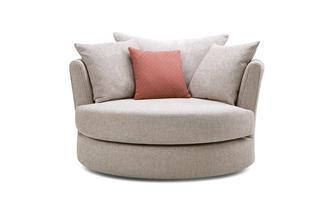 Large Swivel Chair KIrkby Plain