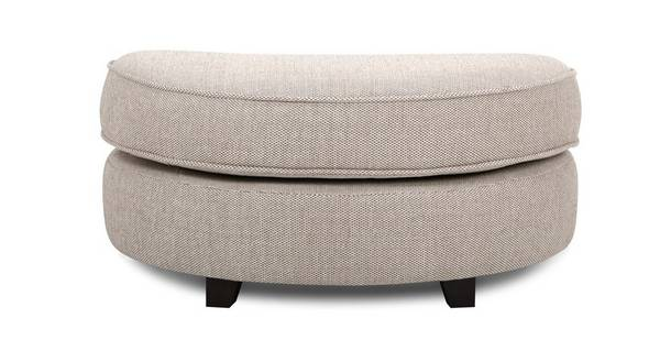 Morton Half Moon Footstool