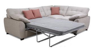 Morton Left Hand Facing 3 Seater Deluxe Corner Sofa Bed
