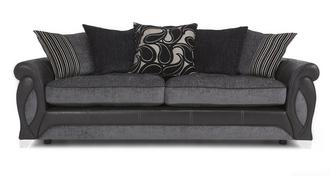 Myriad 4 Seater Pillow Back Sofa