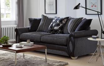 Myriad 4 Seater Pillow Back Sofa Myriad