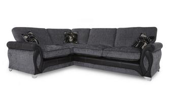 Right Hand Facing 3 Seater Formal Back Corner Sofa Myriad
