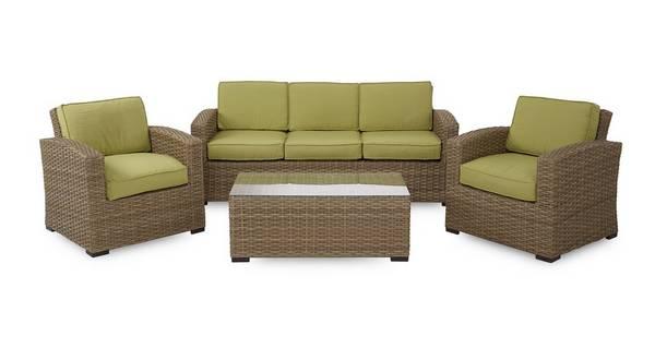 Nabali 3 Seater Sofa Set