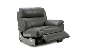 Right Hand Facing Power Plus Recliner Unit