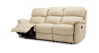 Navona 3-zitter handbediende recliner