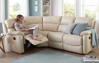 November-savings Navona Option B - Right Hand Facing 1+C+2 MANUAL Peru : fabric corner sofa with recliner - islam-shia.org