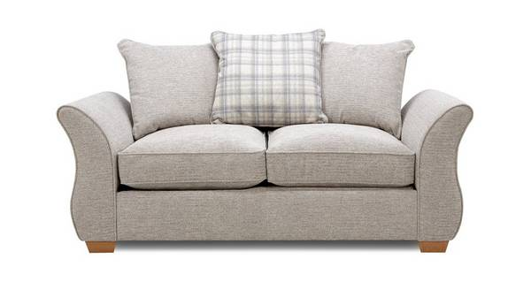 Neela 2 Seater Pillow Back Deluxe Sofa Bed