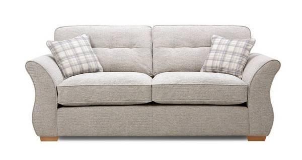 Neela 3 Seater Formal Back Sofa