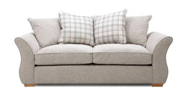 Neela 3 Seater Pillow Back Sofa