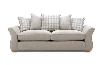 4 Seater Pillow Back Sofa Neela
