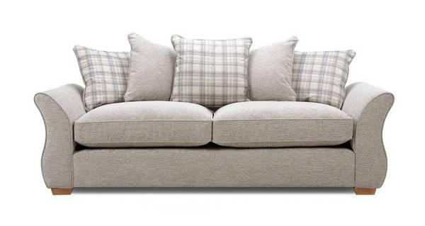 Neela 4 Seater Pillow Back Sofa