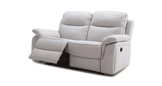 Neko 2 Seater Manual Recliner