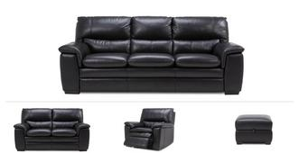 Neron Clearance 3 Seater Sofa, 2 Seater, Power Chair & Stool