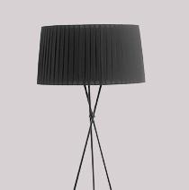 Dwell Silver Floor Lamp