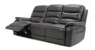 Newark 3 Seater Manual Recliner