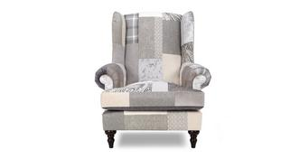 New Aspen Patch patroon Oorfauteuil