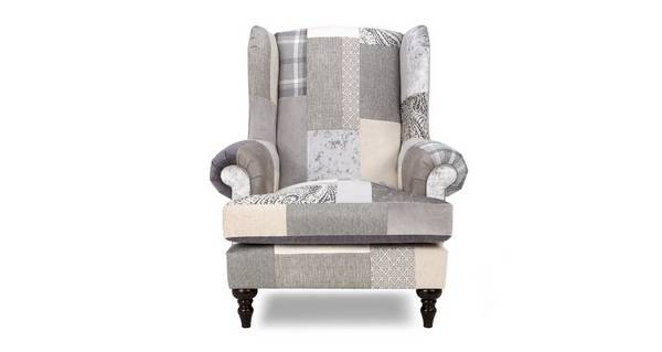 New Aspen Patch Wing Chair