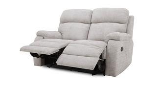 Newbury 2-zitter handbediende recliner