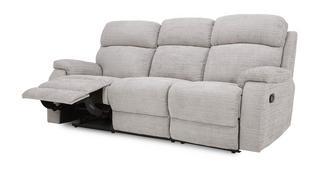 Newbury 3-zitter handbediende recliner