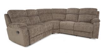 Newbury handbediende recliner hoekbank