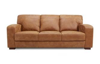 3 Seater Sofa Saddle