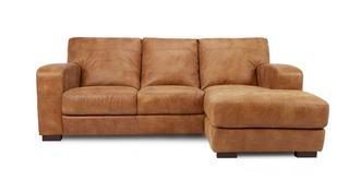 New Caesar 3-zitsbank met chaise longue rechts